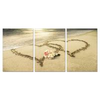 Sisustustaulu Sydämet 3-osainen