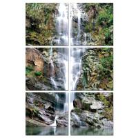 Sisustustaulu Vesiputous 6-osainen
